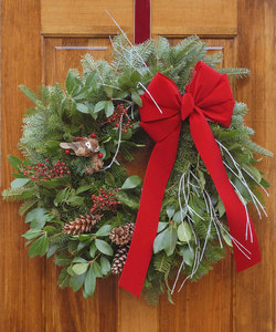 Sat Nov 28 2020 7pm, Wreath From Scratch, 201128191